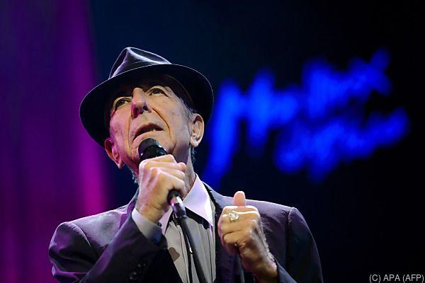"""Leonard Cohen: Letzte Gedichte erscheinen im Band """"The Flame"""""""