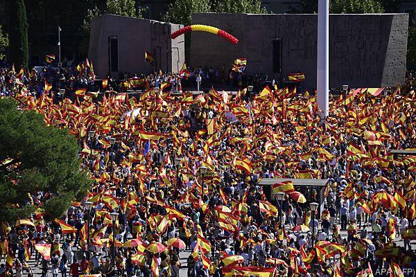 Zehntausende gingen auf die Straße
