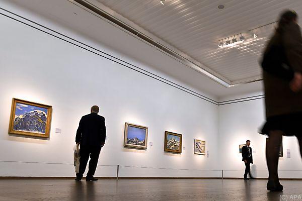 """Ausstellungs-Motto """"Wahlverwandtschaften von Klimt bis Schiele"""""""