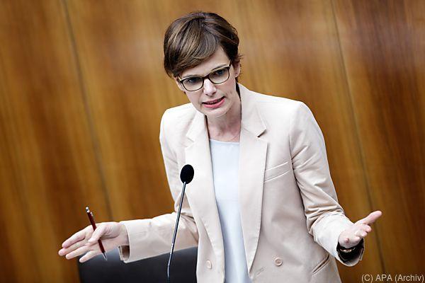 Frauenministerin Pamela Rendi-Wagner