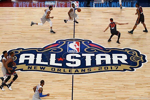 Das Allstar-Wochenende findet vom 16. bis 18.Februar in LA statt