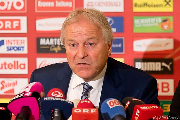 ÖFB-Chef Windtner will keinen Maulkorb erlassen