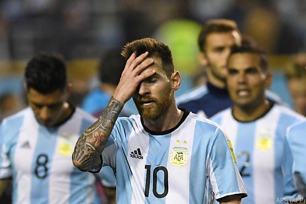 Messi und Co. könnten bei der WM nur zuschauen