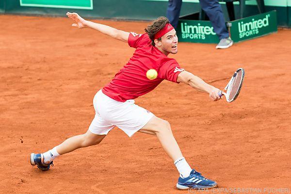 Unterklassige Davis-Cup-Duelle in zwei Tagen abgehandelt