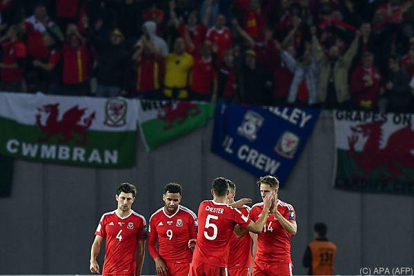 Die Waliser bleiben im Rennen um ein WM-Ticket