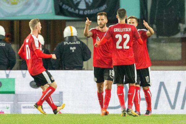 Guido Burgstaller gelang der 1:1-Ausgleich
