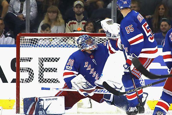 Rangers-Goalie Henrik Lundqvist als Matchwinner
