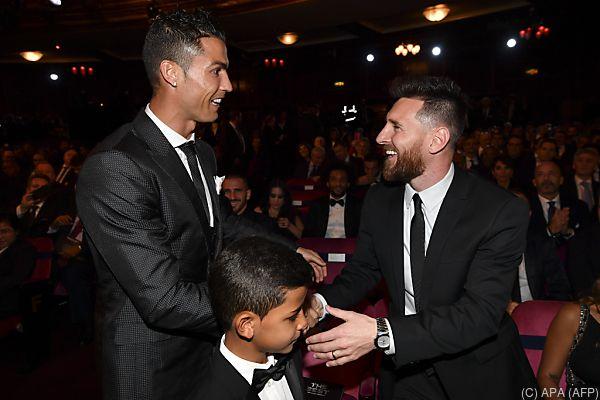 Ronaldo und Messi schenkten sich traditionell nichts