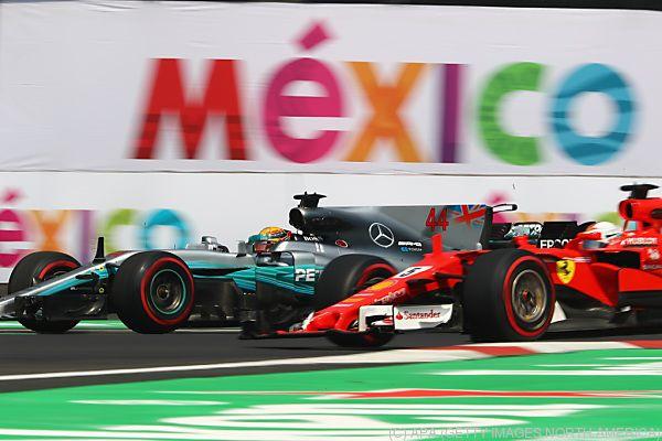 Formel 1 gastiert in Mexiko