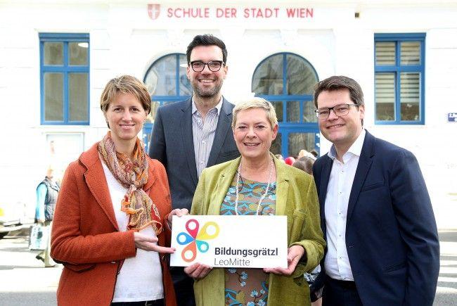 """Im 2. Bezirk entsteht das Bildungsgrätzl """"LeoMitte""""."""