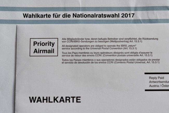 Mit 205.469 ausgestellten Wahlkarten wurden knapp mehr als bei der Wien-Wahl 2015 ausgestellt