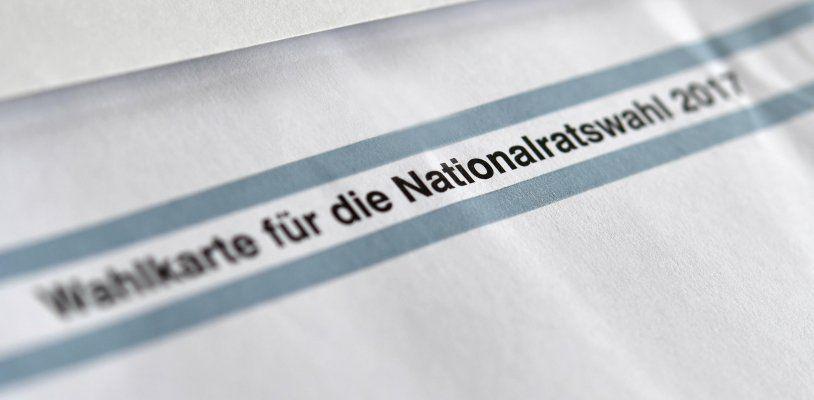 Nationalratswahl-Ergebnis mit ersten Briefwahlstimmen: SPÖ wird Zweite
