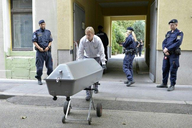 Am Tatort in Wien-Favoriten