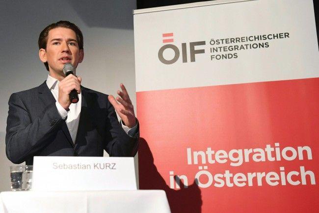 ÖVP- Außen- und Integrationsminister Sebastian Kurz.