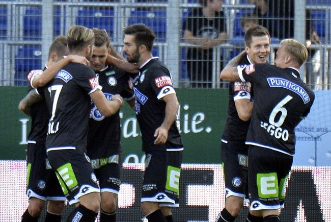 Sturm GRaz bezwingt SKN St. Pölten mit 3:0.