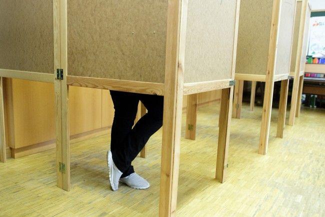 Die Wahlkabinen werden derzeit in Wien ausgeliefert.