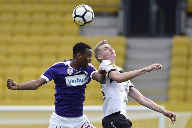 Austria Wien gewinnt 2:0 gegen SCR Altach