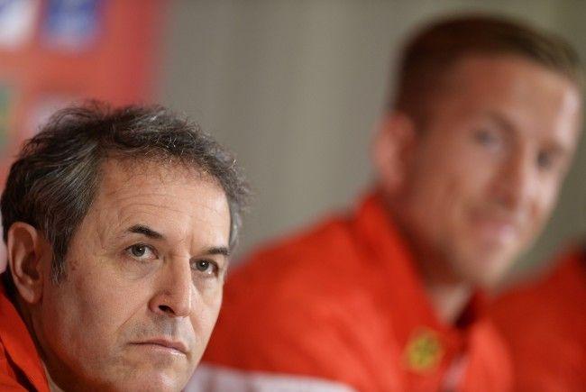 Fußball-Teamchef Koller nahm bei einer Pressekonferenz am Dienstag Stellung zu den Absagen von Alaba, Sabitzer und Koller.