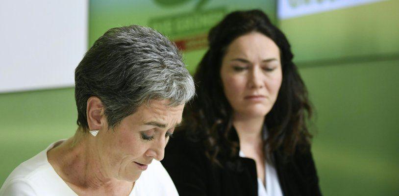 Nach NR-Wahl-Desaster für die Grünen: Lunacek geht, Felipe übergibt an Kogler