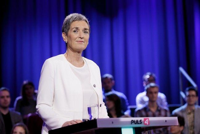 Die Grüne Spitzenkandidatin Ulrike Lunacek hat es in diesem Wahlkampf nicht leicht.