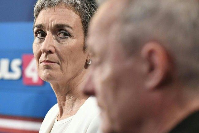 Die Grünen mit Spitzenkandidatin Ulrike Lunacek hatten gegenüber Peter Pilz (Liste Pilz) das Nachsehen in Niederösterreich