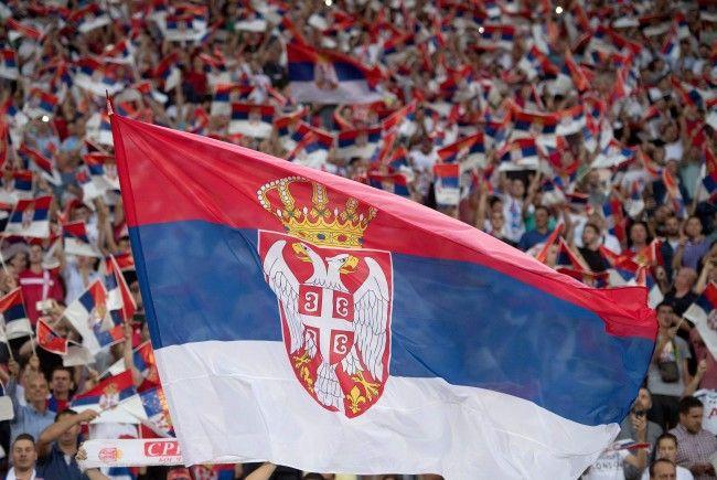 Die serbische Community wird Freitagabend im Happel-Stadion stark vertreten sein.