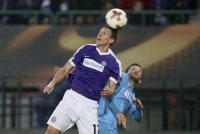 Der nächste verletzte Austrianer: Florian Klein