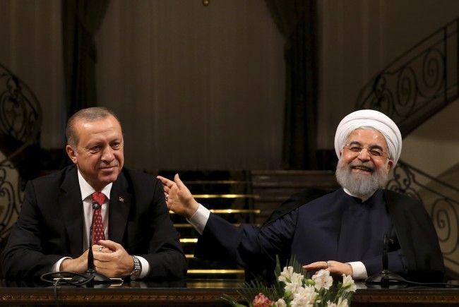 Kurdenreferendum im Nordirak und Syrien-Konflikt sowie Wirtschaftsprojekte im Mittelpunkt.