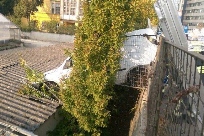 Bei dem Unfall in Meidling wurde niemand verletzt