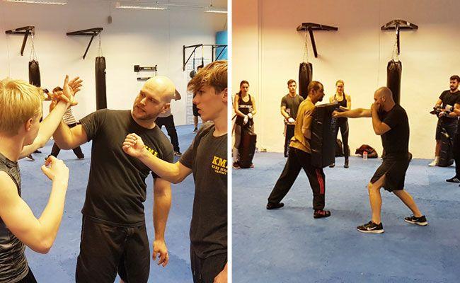 In der Krav Maga Academy können die Techniken des Selbstverteidigungstrainings erlernt werden.