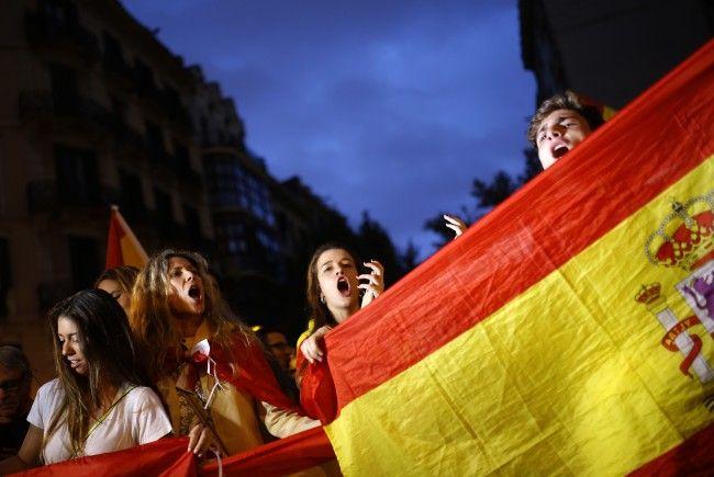 Regierung: Werden in Katalonien-Krise nicht nachgeben.