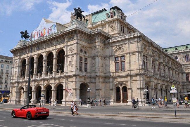 Die Wiener Staatsoper wird renoviert.