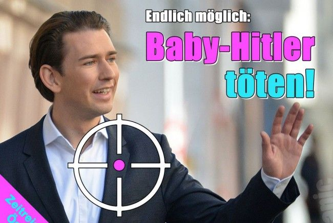 """Satire-Magazin Titanic will """"Baby-Hitler"""" Kurz töten"""