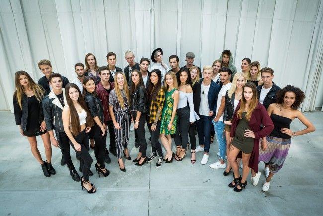 """""""Austria's Next Topmodel"""" geht in die nächste Runde: Das sind die Top 30 Kandidaten."""