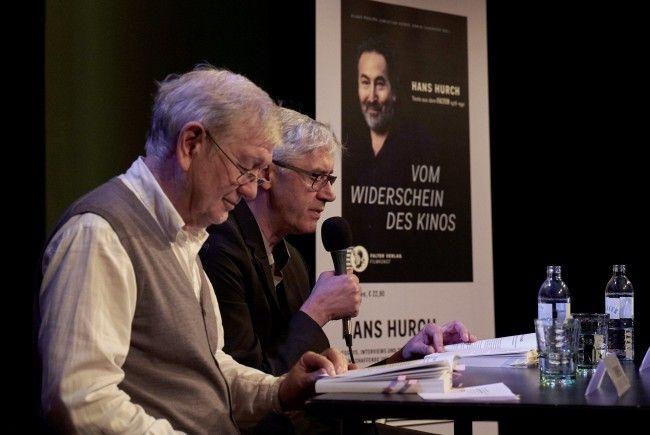Armin Thurnher und Claus Philipp bei der Buchpräsentation im Viennale-Festivalzentrum