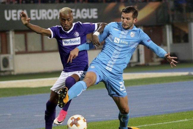 Alex Gorgon (r.) empfängt die Austria mit Rijeka am Donnerstag zum Rückspiel.