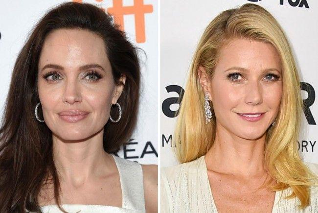 Auch unter den Opfern: Angelina Jolie und Gwyneth Paltrow.