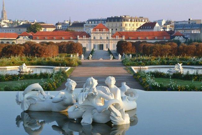 Gleich in der Nähe des Belvederes entsteht das neue Luxus-Wohnprojekt.