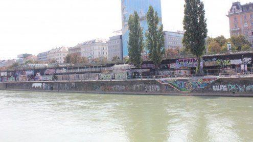 Mann attackierte Ehefrau und sprang flüchtend in Donaukanal