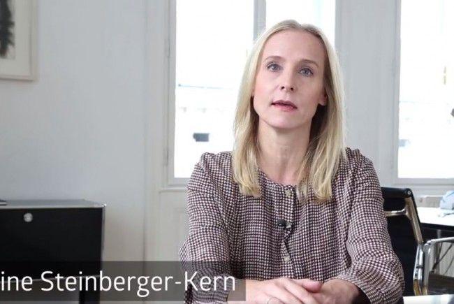 Eveline Steinberger-Kern geht in die Offensive.