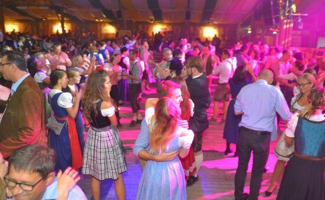 Die Steirer sorgten für prächtige Stimmung auf der Wiener Wiesn.