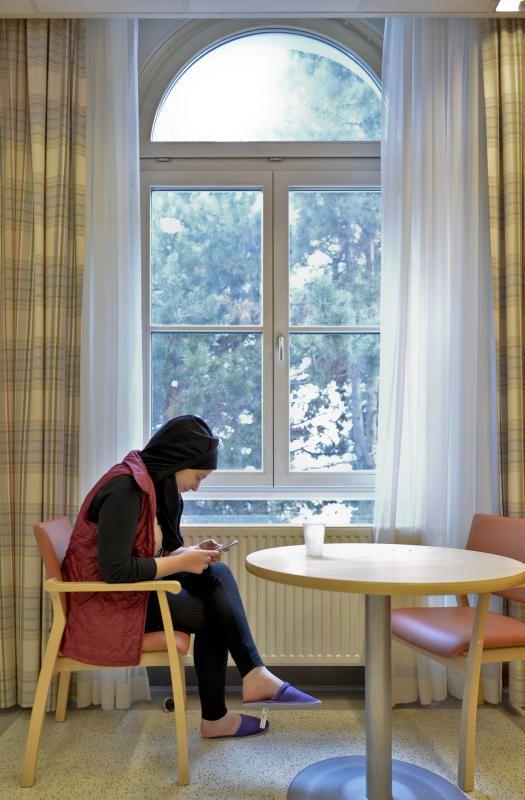 """Flüchtlingsfrauen können nun an einem Ort zusammenkommen um zu """"netzwerken""""."""