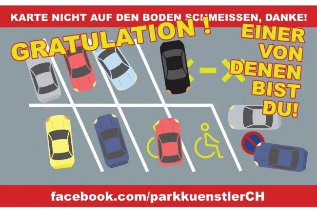 Auch die Vorarlberger nehmen es mit dem Parken nicht so genau.