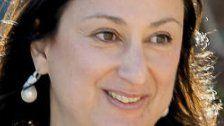 Getötete Journalistin in Malta - Ermittlungsarbeit