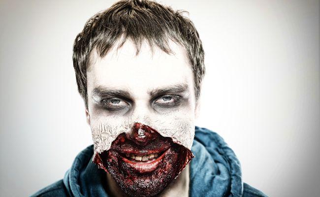 Ein Klassiker zu Halloween: Der Zombie.