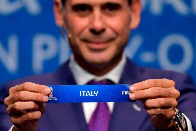 Schweres Los: Italien trifft auf Schweden.