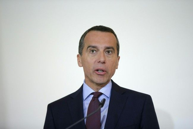 Bundeskanzler Kern äußerte sich zur Dirty Campaigning-Affäre.