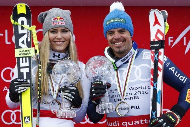 Darf sich Lindsey Vonn bald mit Peter Fill in einem Weltcuprennen messen?