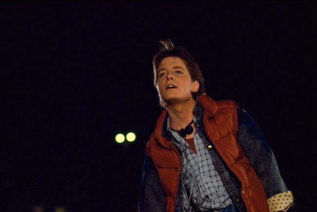 """Die High-Tech-Jacke ist der von Marty aus """"Zurück in die Zukunft"""" nachempfunden."""