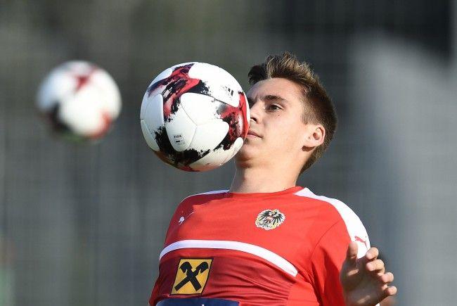 Max Wöber reist mit breiter Brust zum ÖFB-Team.